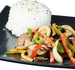 Menu wok